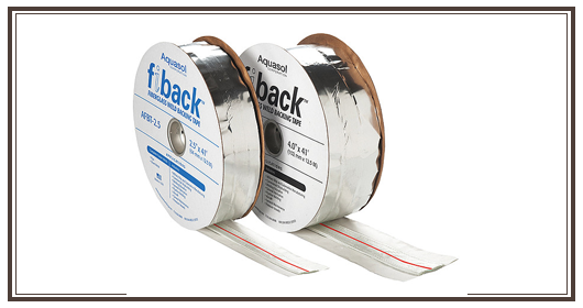 fiback-fiback weld backing tape